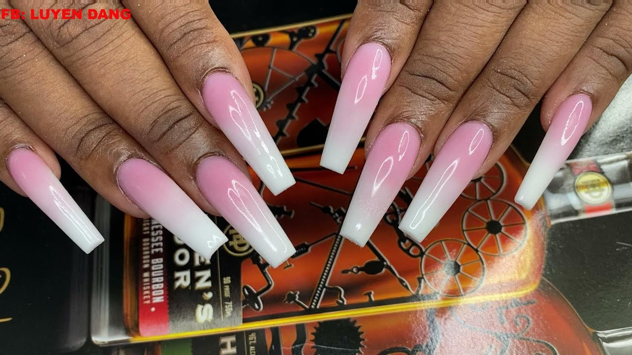 Download Acrylic Refill Ombre   Nail Tutorial  