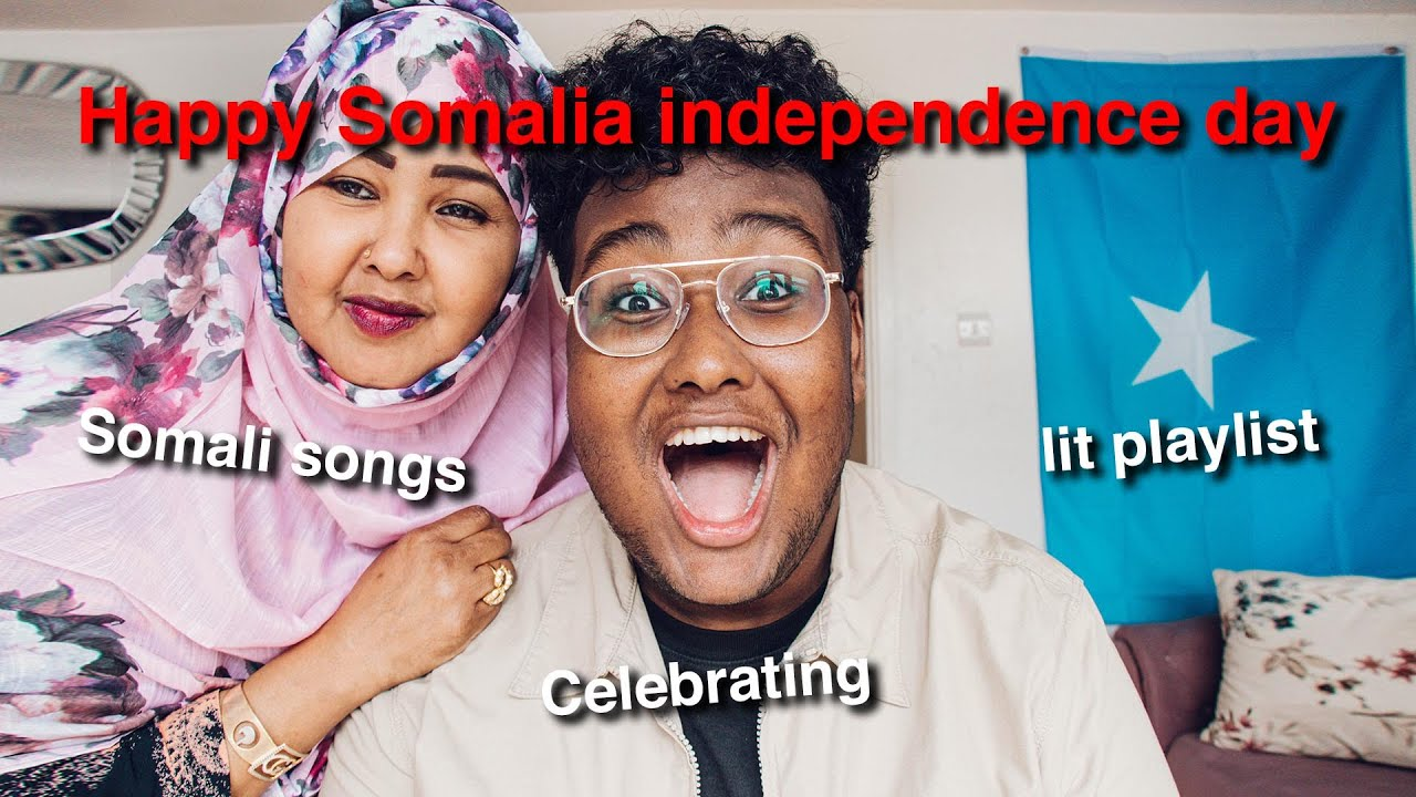 Happy Somalia independence day… With My Mum & Family playing our favourite Somali Songs *JULY 1st*