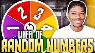 WHEEL OF RANDOM NUMBERS REBUILDING CHALLENGE IN NBA 2K19