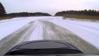 Subaru Legacy 3.0R Spec B ice track 2