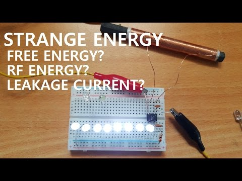 Free Energy RF Energy Leakage Current
