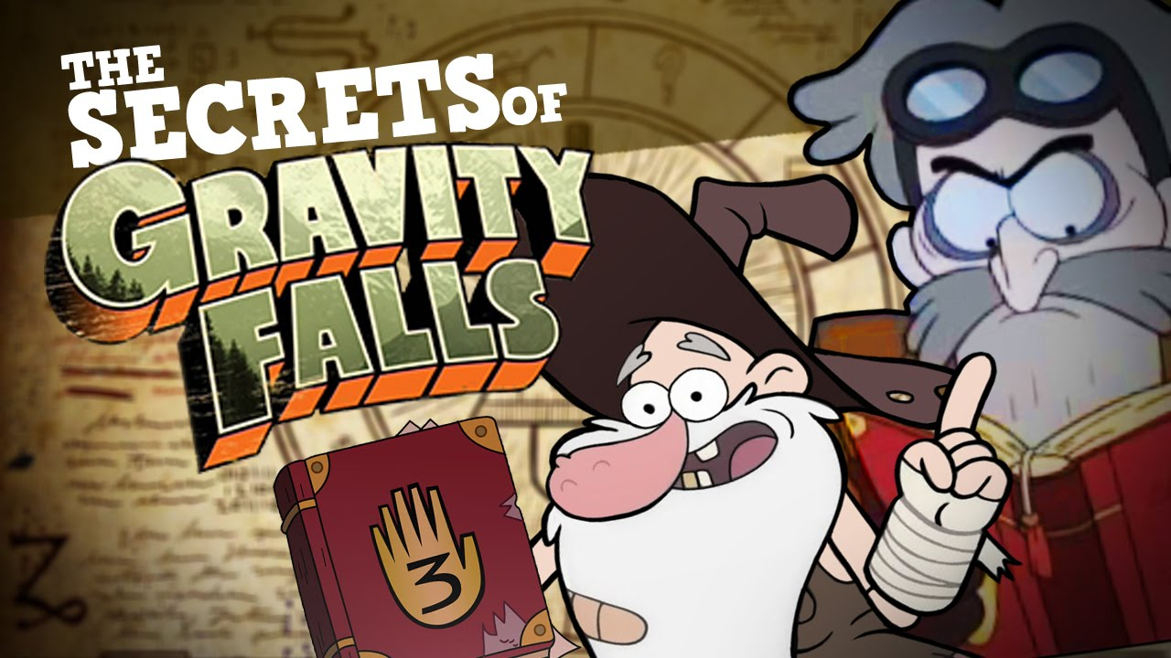 the secrets of gravity falls who really wrote the journals