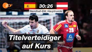 Spanien - Österreich 30:26 - Highlights | Handball-EM 2020 - ZDF