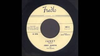 Jerry Martin - Janet - Rockabilly 45