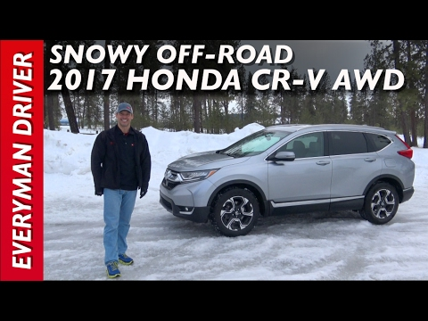 Snowy Off-Road: 2017 Honda CR-V AWD on Everyman Driver