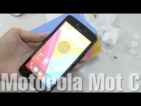 Motorola Moto C - Unboxing