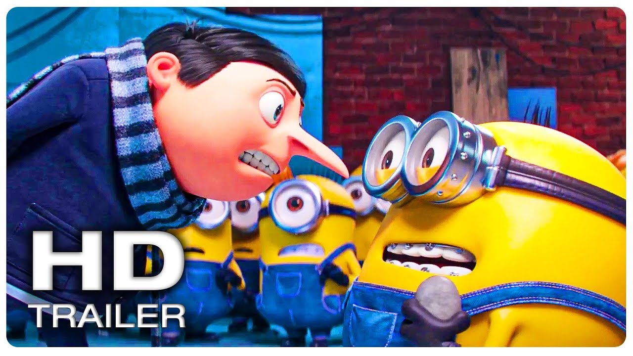 Download MINIONS 2 THE RISE OF GRU Trailer #1 Official (NEW 2022) Animated Movie HD