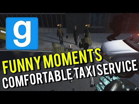 Gmod || CityRP || Killer Comfy Taxi Service With Indian Tech Support!