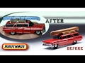 Detailing Matchbox 1959 Chevy Brookwood Wagon | Fun DIY