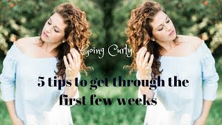 How to survive the Transition Phase | Curly Girl Method