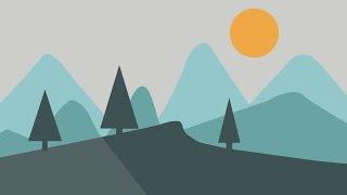 Google Summer Wallpaper using Adobe illustrator Tutorial