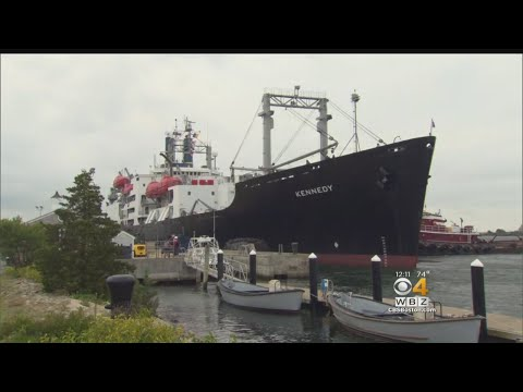 Ship Departs Mass Maritime Academy To Help Harvey Victims