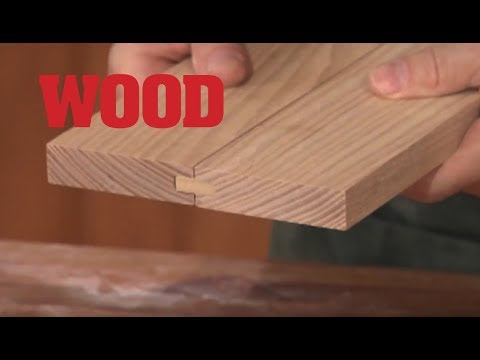 How To Make A Spline Joint - WOOD magazine