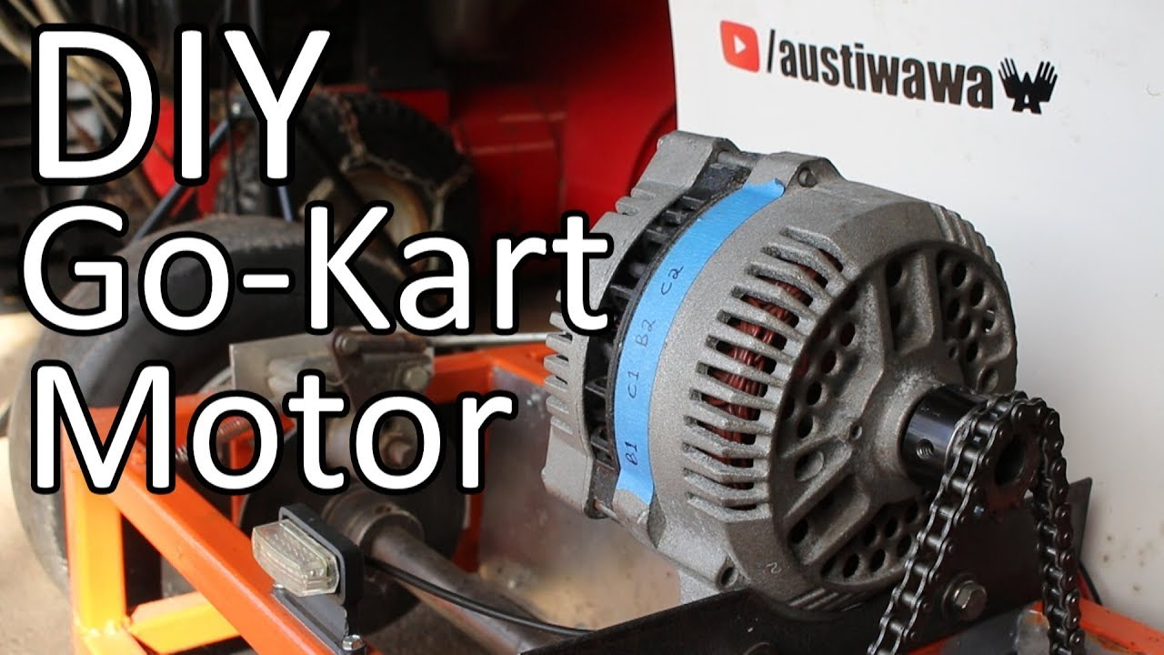 hight resolution of converting a car alternator into a go kart motor