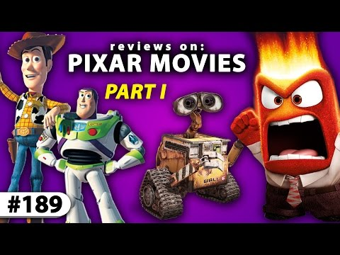 """Reviewing PIXAR's BEST MOVIES -- From """"Toy Story"""" To """"Inside Out"""""""