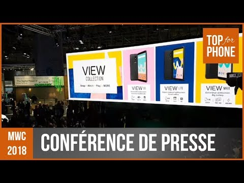 INSIDE : Conférence de Presse Wiko (mwc18)