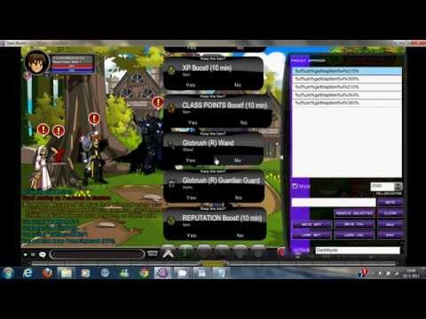 how to change class aqw