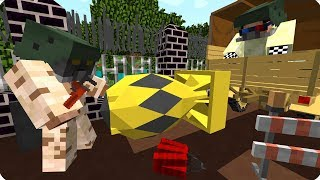 Прощай зомби вирус! [ФИНАЛ] Зомби апокалипсис в майнкрафт! - (Minecraft - Сериал)