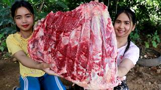 Grilled Beef Ribs With Shrimp Paste Sauce Recipe - Cooking Cow Rib - My Food My Lifestyle