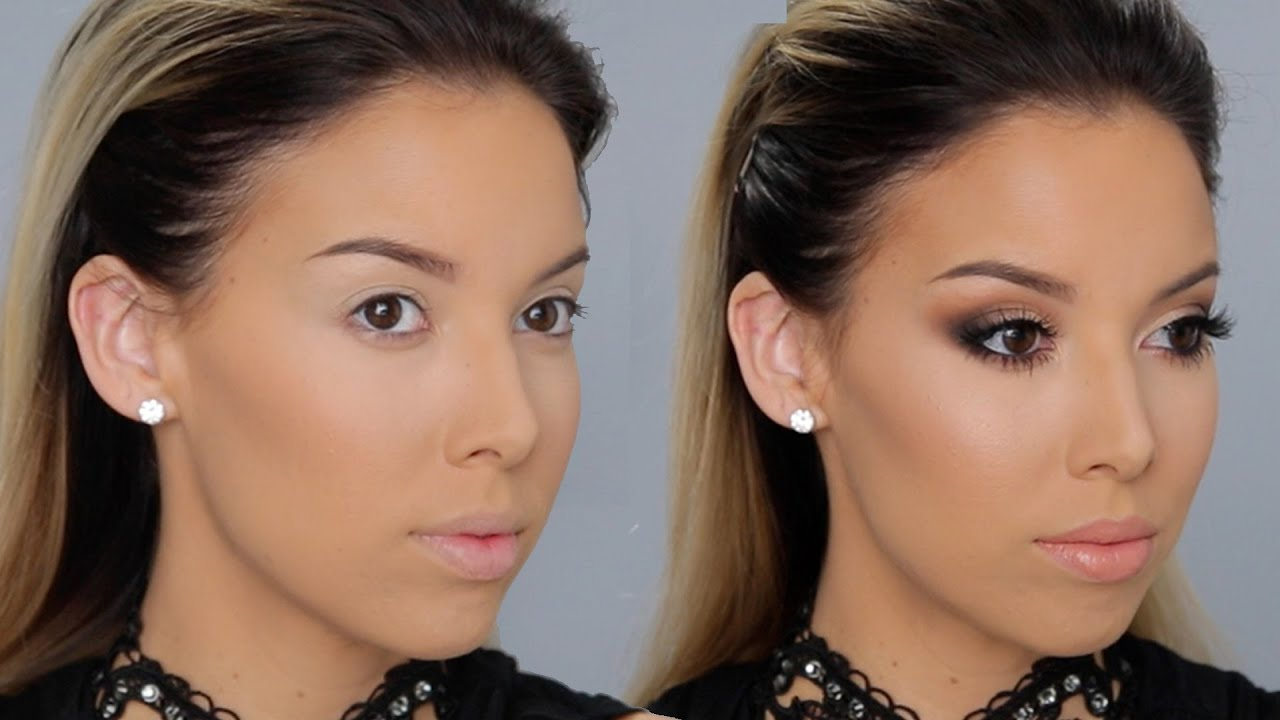 Sleek smokey makeup tutorial lustrelux youtube baditri Choice Image
