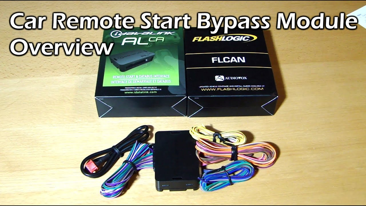 hight resolution of car remote start bypass module overview
