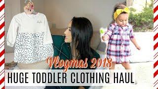 TODDLER CLOTHING HAUL 2018 | AFFORDABLE CLOTHING | XoJuliana