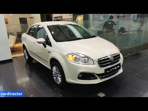 Fiat Linea T Jet 2019   Linea 2019 Top Model Features   Interior and Exterior   Real-life Review