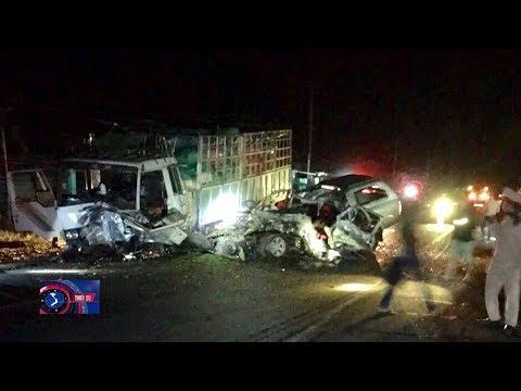 Tai nạn giao thông nghiêm trọng tại Gia Lai