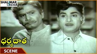 Dharma Daata Movie || ANR Tells His Father I Love Kanchana || ANR, Kanchana || Shalimarcinema