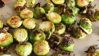 Duck Fat Roasted Brussels Sprouts - Easy Brussels Sprouts Side Dish Recipe
