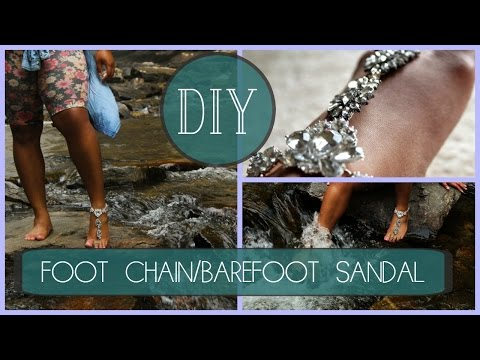 Diy Barefoot Sandals How To Make