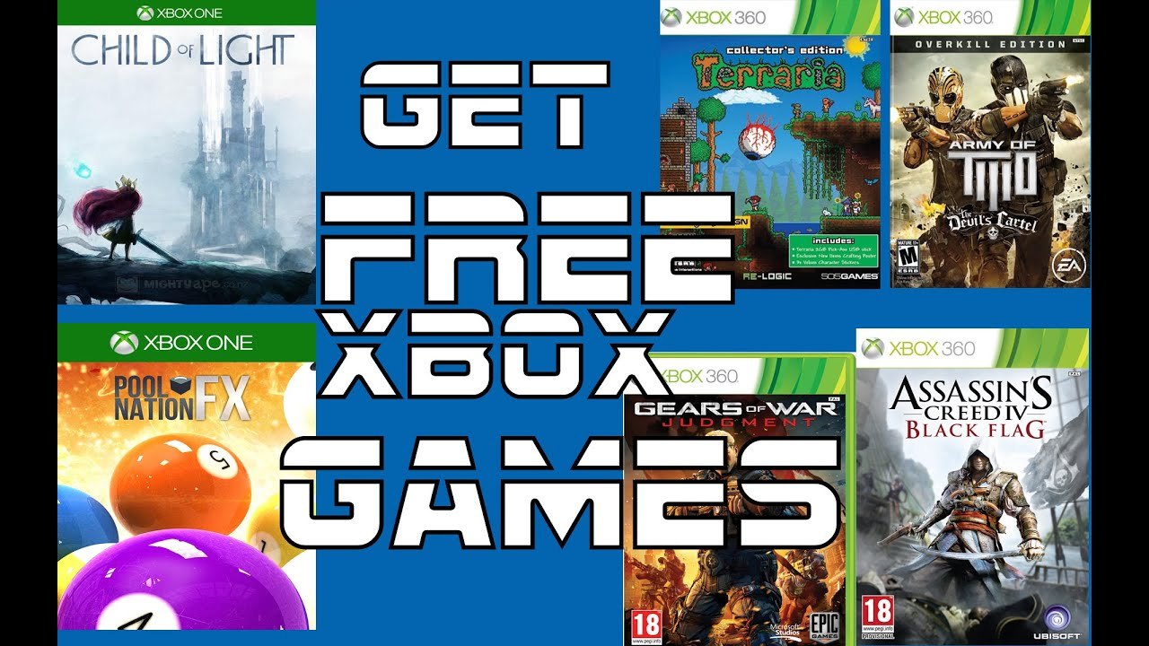 How To Get Gold Games Free Xbox 360 Xbox One No Pay