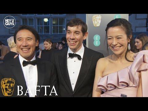 Elizabeth Chai Vasarhelyi, Alex Honnold and Jimmy Chin - Free Solo - BAFTA 2019 red carpet Mp3