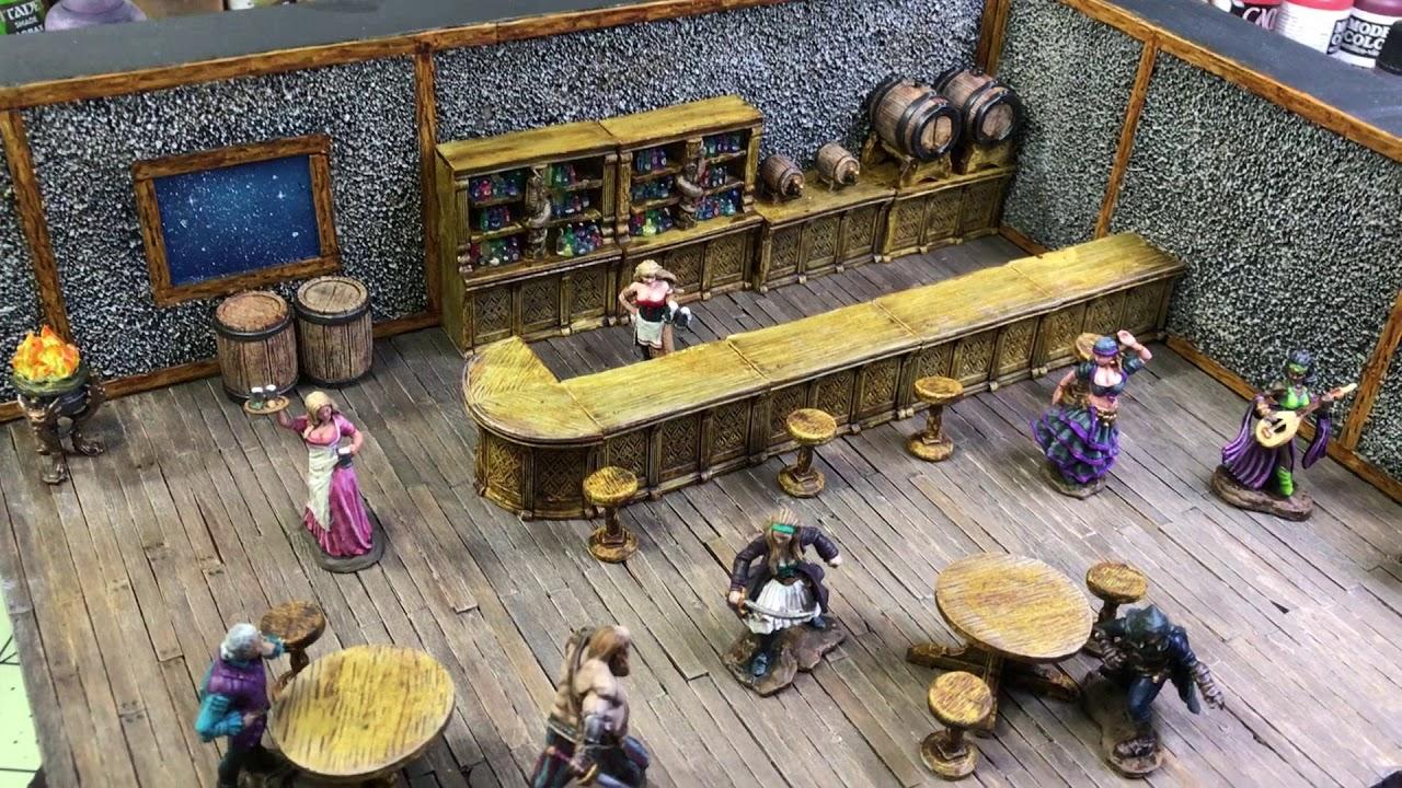 Pathfinder Deep Cuts non peinte miniatures Rusty Dragon Bar