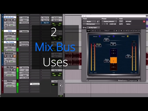 2 Mix Bus Uses - Reference Song and Master Fader Volume
