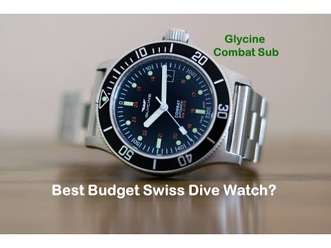 Glycine Combat Sub Review - The best budget Swiss dive watch?