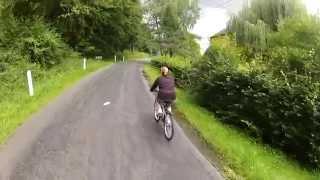 A vélo Sainte-Cécile, Muno, Sainte-Cécile.