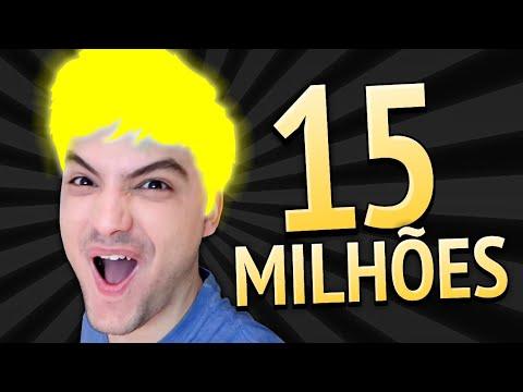 15 MILHÕES!!! AGORA EU BRILHO NEON!