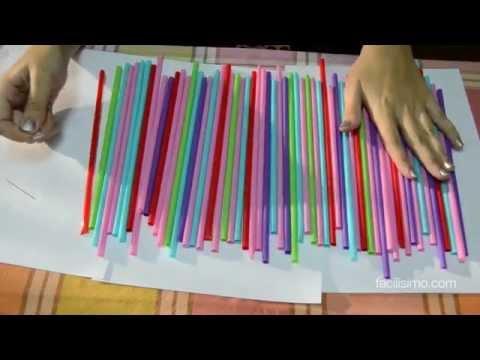 Cómo decorar una fiesta infantil con pajitas   facilisimo.com