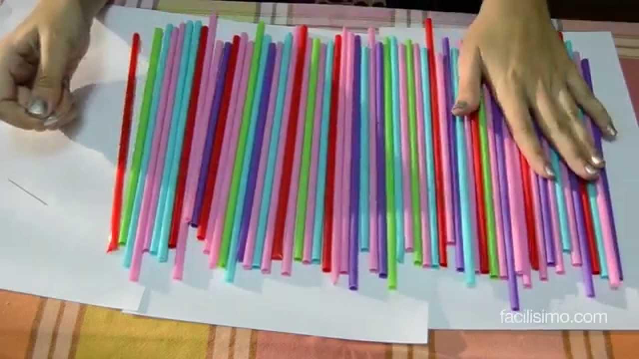 C mo decorar una fiesta infantil con pajitas facilisimo - Como decorar una mesa para una fiesta ...