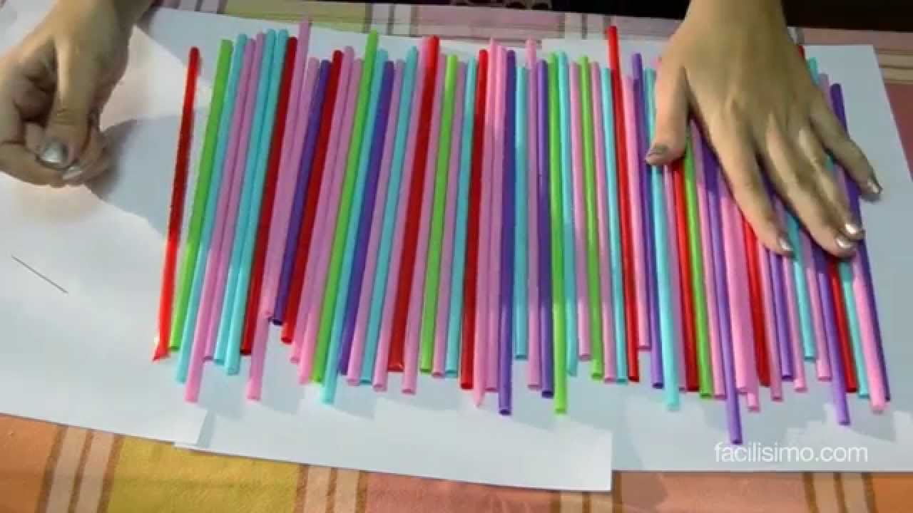 C mo decorar una fiesta infantil con pajitas facilisimo for Manualidades decoracion infantil