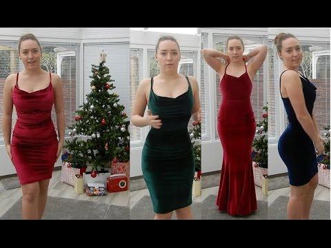 The Ultimate Christmas Dress Haul Tidebuy Com Youtube