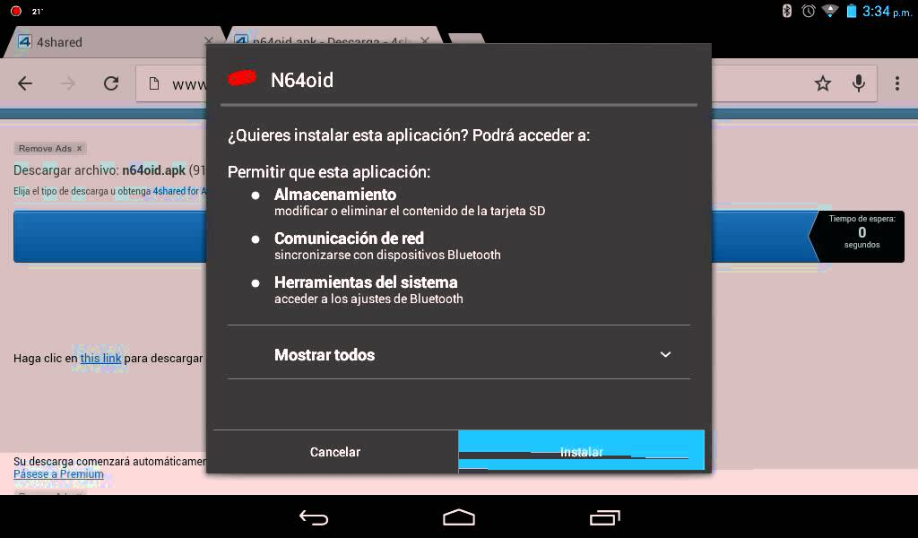 descargar 4shared para android apk