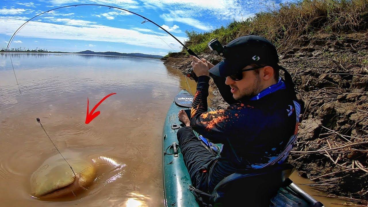 O RIO DOS MONSTROS NÃO PARA DE SURPREENDER! Pescaria.