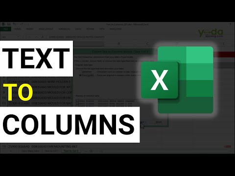 How to use Text to Columns in Excel  | Convert text to columns