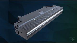Новинка 2020. Гибридный прибор: мощный линейный стробоскоп и яркий функциональный инструмент для работы с пиксельмэпингом.