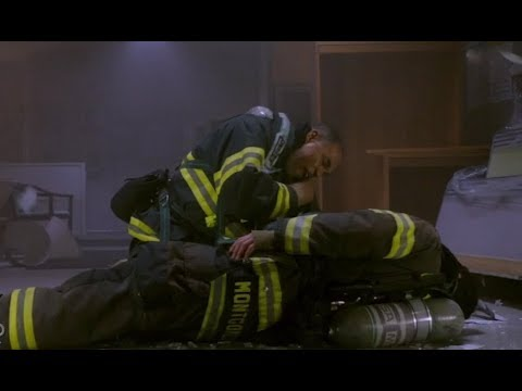 Station 19 1x10 Not Your Hero Season Finale Preview With Slo Mo Youtube