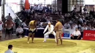 RUS vs USA Teams Sumo World Championships 2015