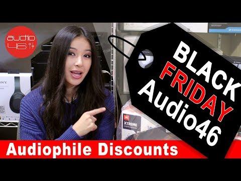 Audio46 Black Friday Headphones Special discounts