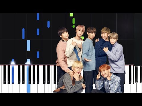 BTS 방탄소년단 봄날  Spring Day  Piano Tutorial